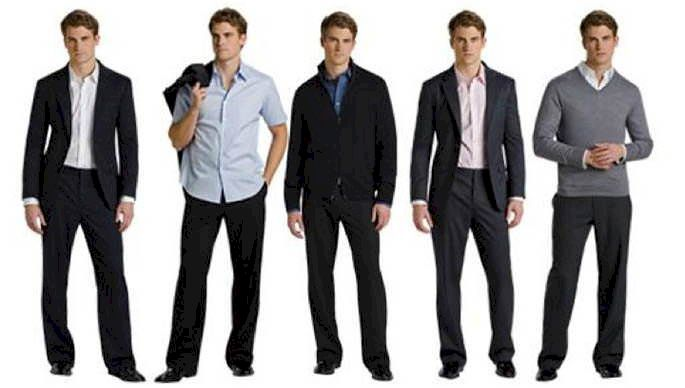 Work clothes for men