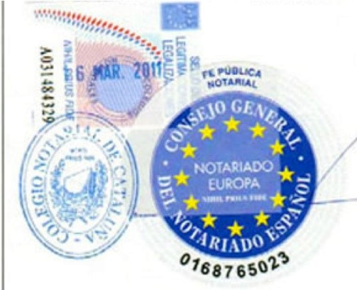 Is a sworn translation done in Spain valid in the rest of the countries of the European Union?